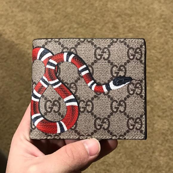 e57f75e38e3a Gucci Other | Kingsnake Gg Supreme Wallet | Poshmark